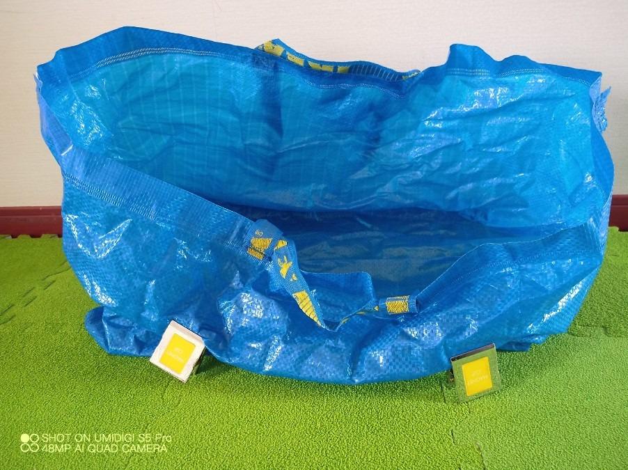 トートバッグ試行錯誤。軽い薄い生地の塩梅を調査中。